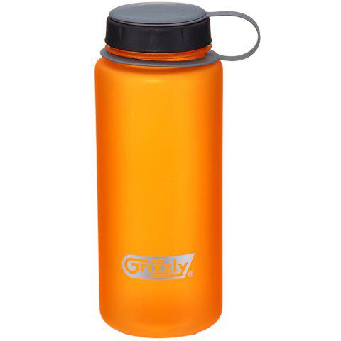 Grizzly ES8105A  Large Capacity Plastic Classic Series 750ml Scrub Space Cup - PAPAYA ORANGE
