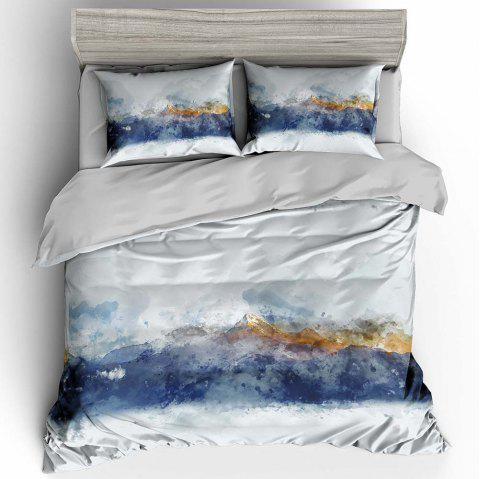 T35 3D Digital Printing Bedding Set - multicolor A TWIN