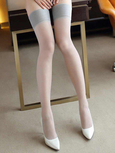 Cuisse Tentation Sexy Longs Bas - Gris
