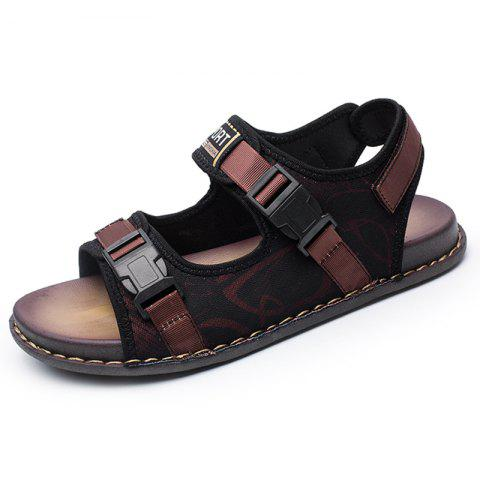 Men Trend Wild Breathable Sandals - RED EU 38