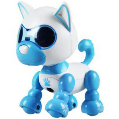 Smart Mini Puppy Dog Robot Electronic Touch Sensing Toy Gift for Children - DEEP SKY BLUE