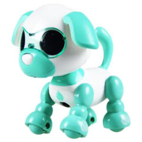 Smart Mini Puppy Dog Robot Electronic Touch Sensing Toy Gift for Children - AQUAMARINE
