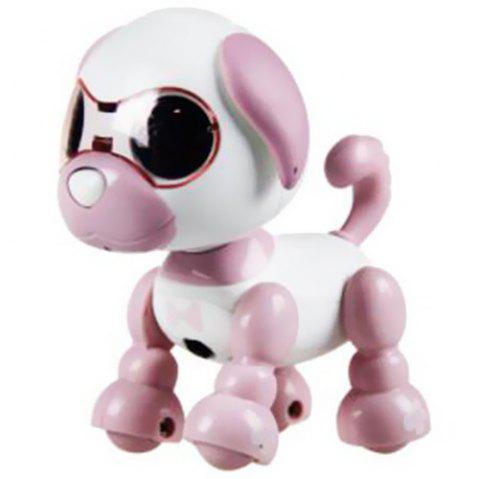 Smart Mini Puppy Dog Robot Electronic Touch Sensing Toy Gift for Children - PINK