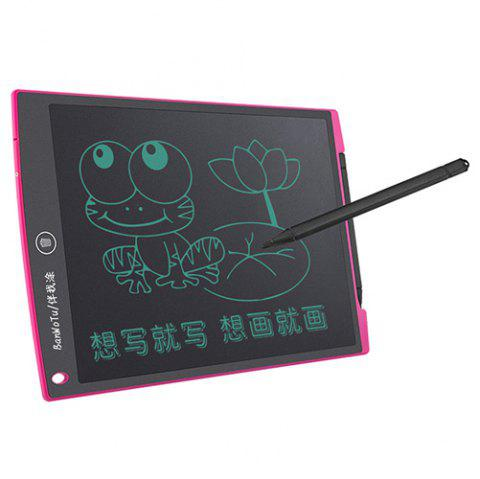 8.5 inch LCD Display Drawing Writing Board Toy - DEEP PINK