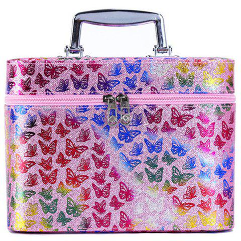 Simple Cute Girl Storage Box Product Cosmetic Case - PINK