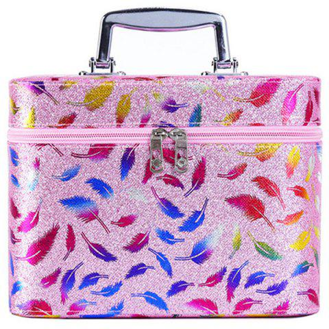 Simple Cute Girl Storage Box Product Cosmetic Case - LIGHT PINK