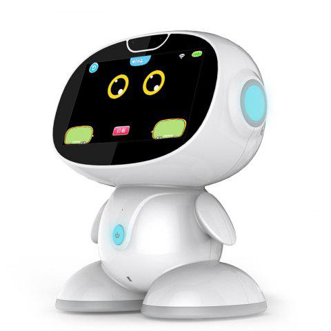 X380 Early Childhood Education Learning Intelligent Companion Educational Toy Robot - WHITE REGULAR