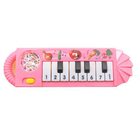 Creative Children's Electronic Piano Toy - PINK