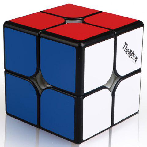 MO FANG GE Magnetic 2 Small 2 Speed Magic Cube - BLACK