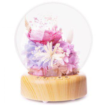 TW - S001 Creative Flower Bluetooth Music Ball Decoration Table Lamp