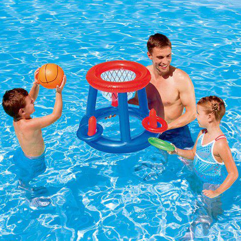 Pool Swimming Pool Water Basketball Stand Toy - DODGER BLUE