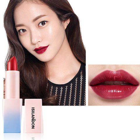 ISILANDON Fashionable Charming Lipstick - RED WINE 04#