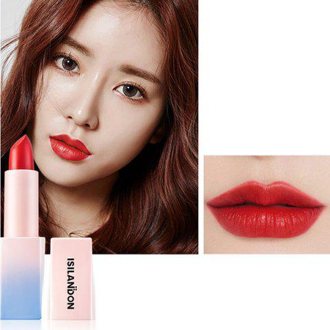 ISILANDON Fashionable Charming Lipstick - RED 03#