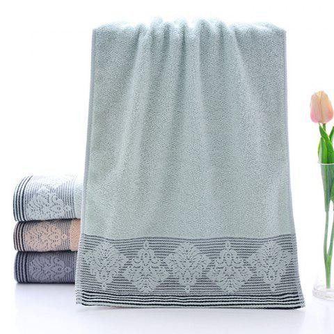 Adult Soft Comfortable Wash Cotton Towel - GREEN PEAS