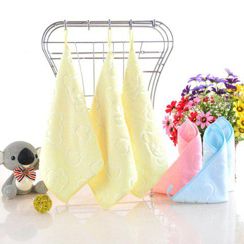 Microfiber Cartoon Pattern Wiping Face Towel - CREAM