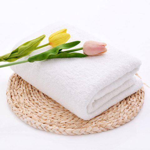 Cotton Thickening Soft Water Towel - WHITE