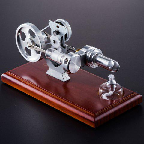 QX - FD - 01 Stirling Engine Power Generation Model Toy Gift - SILVER