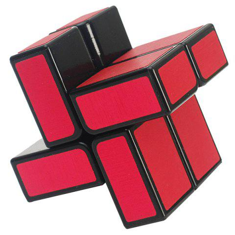 ZCUBE 2x2 Magic Cube Flat Puzzle - RED