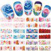 Autocollants 48PCS de rose de mode / bijoux DIY - multicolor
