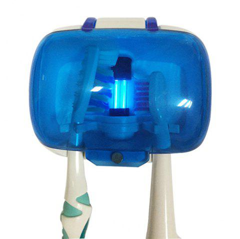 Suction Cup UV Sterilization Toothbrush Holder - BLUEBERRY BLUE