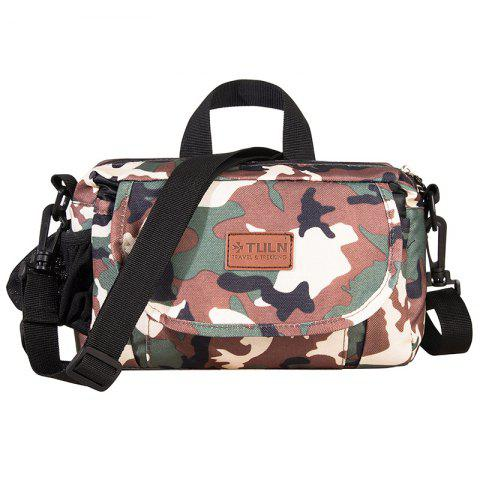 TULN TL - 3911 Multi-function Camouflage Waist Bag - CAMOUFLAGE GREEN