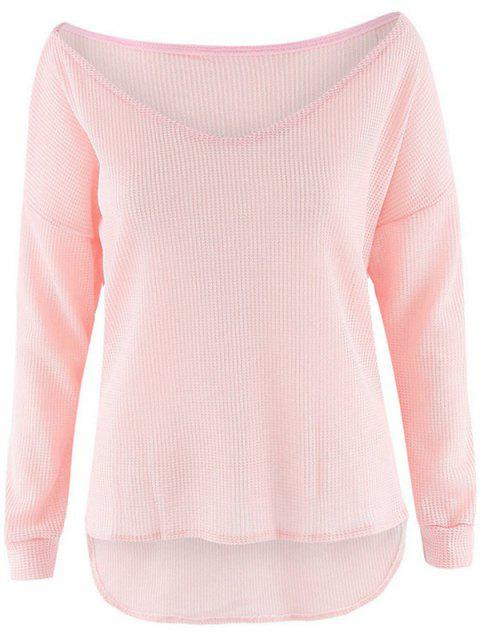 Stylish Lightweight Women's Pullover - PINK S