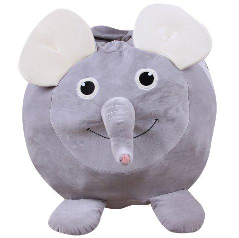 Animal Design Storage Bag Chair Household Items - LIGHT GRAY