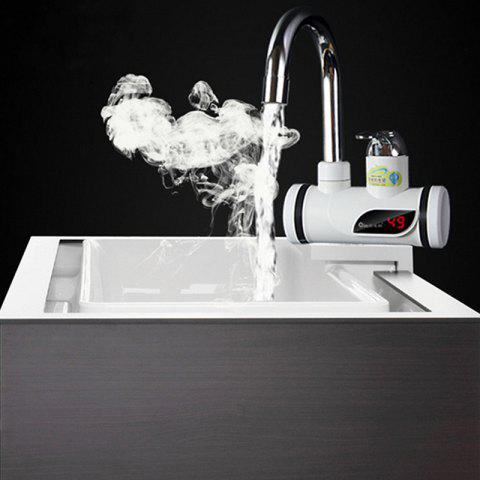 Fast Heating Kitchen Treasure Digital Display Hot Cold Dual-use Electric Faucet - WHITE