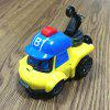 Children's Puzzle Deformation Police Car Robot Educational Toy - multicolor A BUCKY CRANE