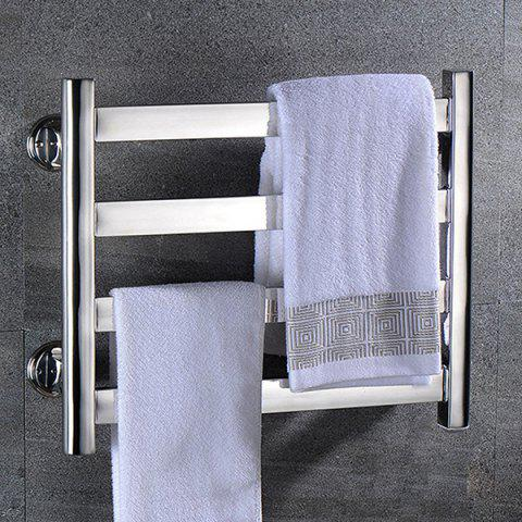 BAITHINF 304 Stainless Steel Electric Towel Rack - SILVER