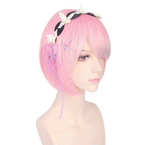SYJF 026 Cosplay Wig without Hair Accessories - PINK