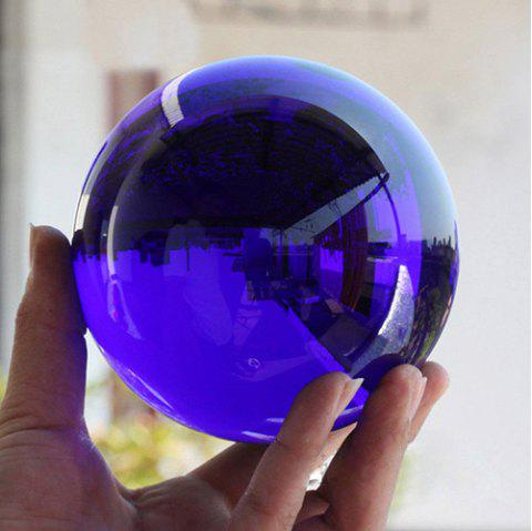 Home Decoration Small Ornaments Crystal Ball - BLUE 50MM