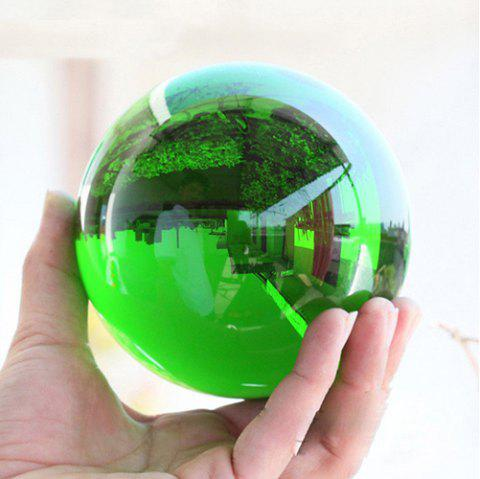 Home Decoration Small Ornaments Crystal Ball - GREEN 50MM