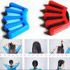 Girls DIY Sponge Hair Braider Plait Twist Braiding Tool 1pc - RED