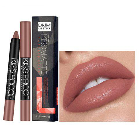 DNM ML0010 Sexy Gloss Lasting Waterproof Lipstick - BEAN RED 17