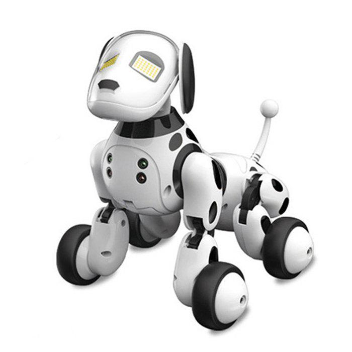 DIMEI 9007A Intelligent RC Robot Dog Toy - WHITE