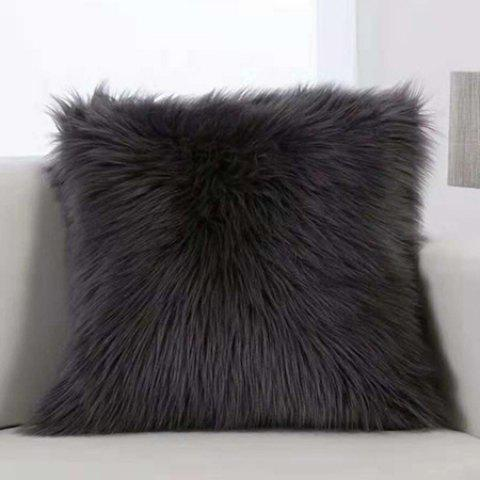 Practical Plush Pillow Household Items - BLACK