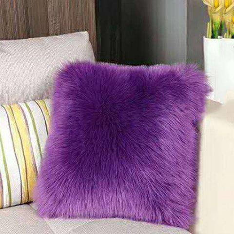 Practical Plush Pillow Household Items - PURPLE FLOWER