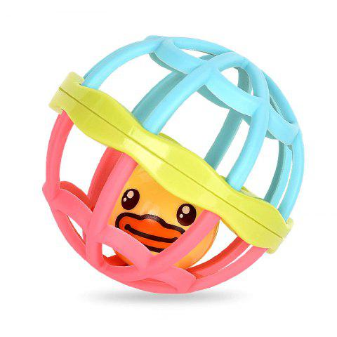 B.DUCK WL - BD001 Baby Soft Rubber Hand Ball - multicolor A