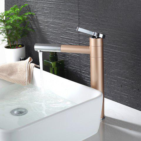 BR6112C Champagne Gold High Basin Faucet - GOLD
