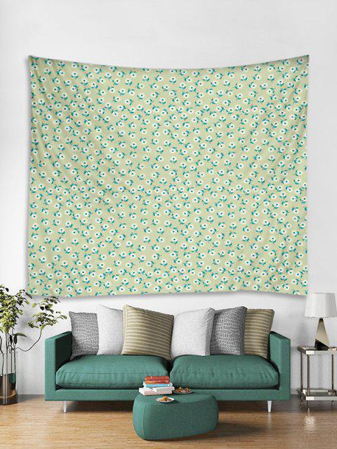Grass Printed Tapestry Art Decoration - multicolor W79 X L71 INCH