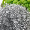 Stainless Steel Dishwashing Cleaning Ball 6 pcs - SILVER
