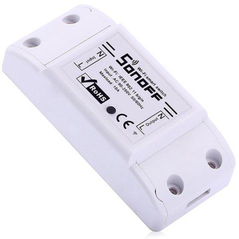 SONOFF BASIC WiFi Wireless Smart Switch for DIY Home Safety - WHITE