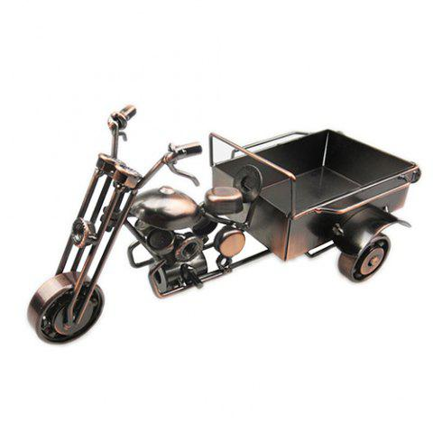 European Ornaments Crafts Tricycle Model - COFFEE
