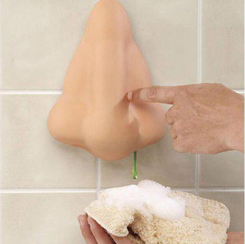 Creative Nose Funny Practical Hand Sanitizer Bottle - CHAMPAGNE