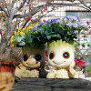 Potted Potted Gardening Resin Decoration - WHITE LENGTH 16 X WIDTH 12.5 X HEIGHT 18 (CM)