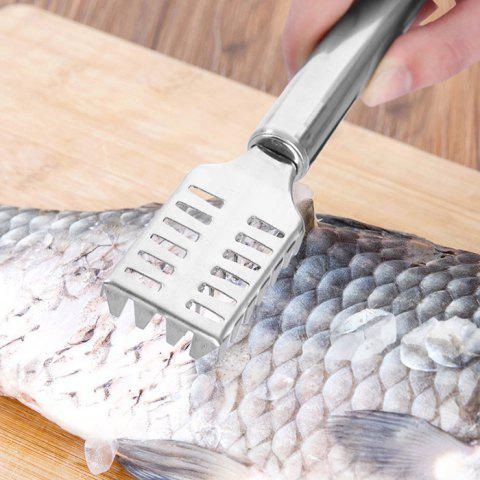 Stainless Steel To Fish Scale Planer - SILVER