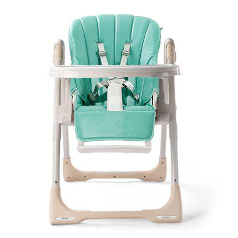 8500 Multifunctional Baby Folding Dining Chair - GREEN