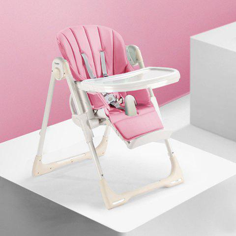 8500 Multifunctional Baby Folding Dining Chair - PINK