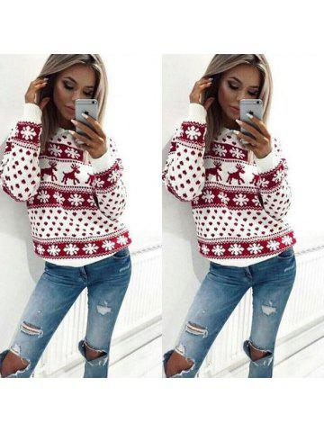 c39b9a6011c8d Women Casual Long Sleeve Hoodie Sweatshirt Blouse Tops Hooded T-shirt  Pullover Christmas Winter